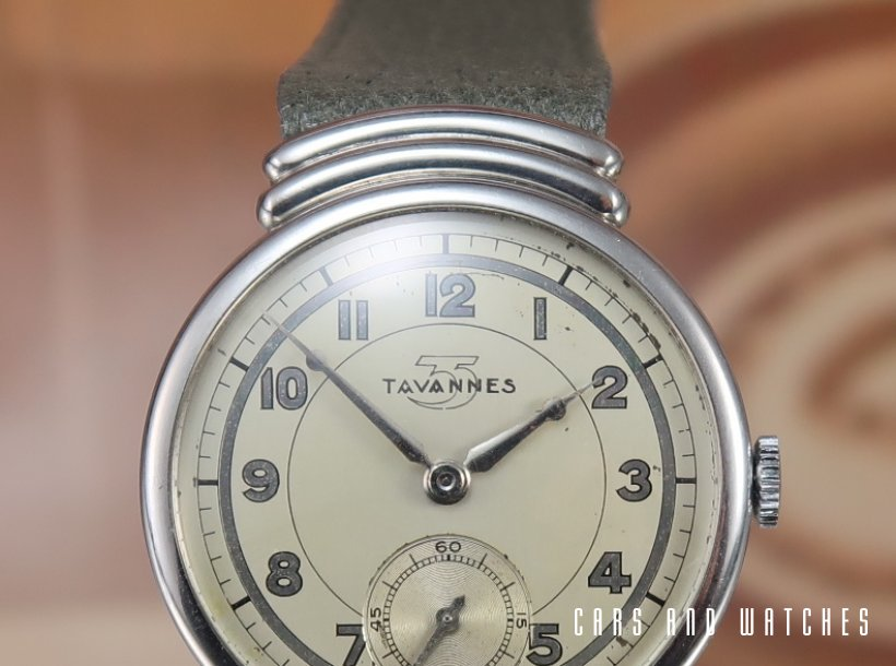 Tavannes Art Deco Time Only