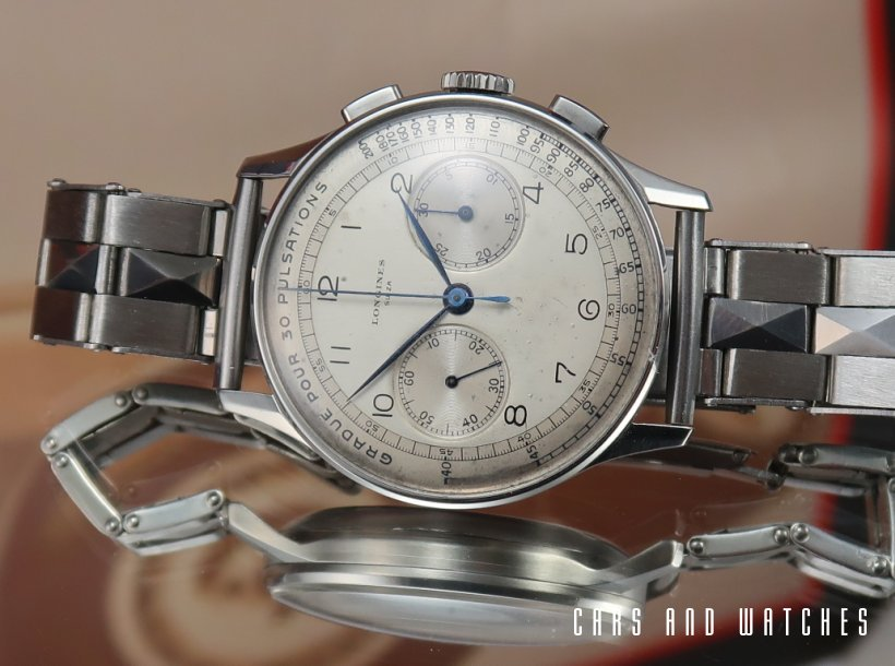 Longines 13ZN Chrono with Pulsations Dial