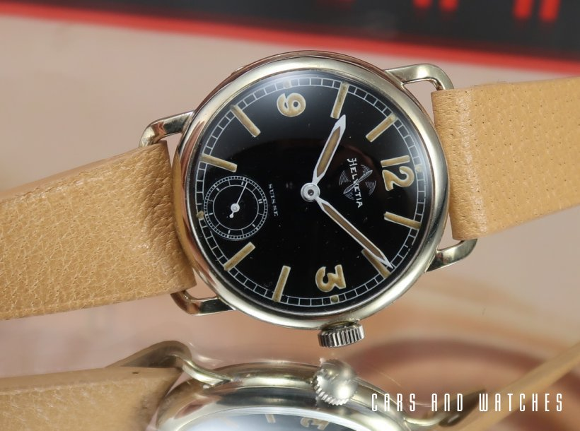 Mint Helvetia Military Pilot's Watch