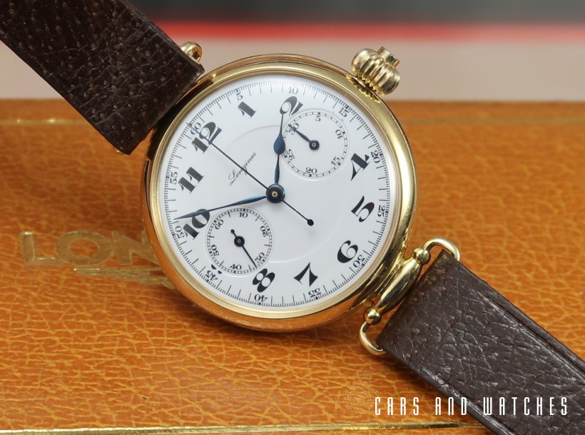 Longines 13.33 Chronograph in 18K