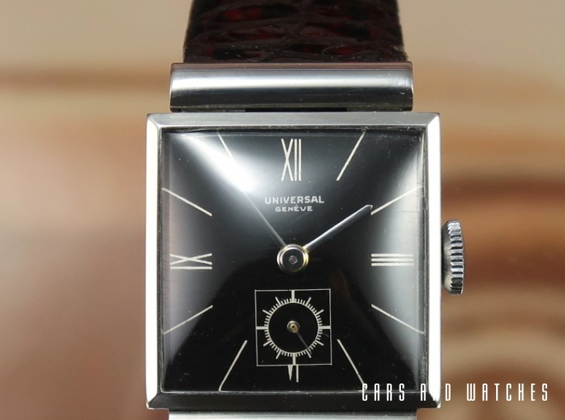 Universal Geneve Art Deco Tank Watch