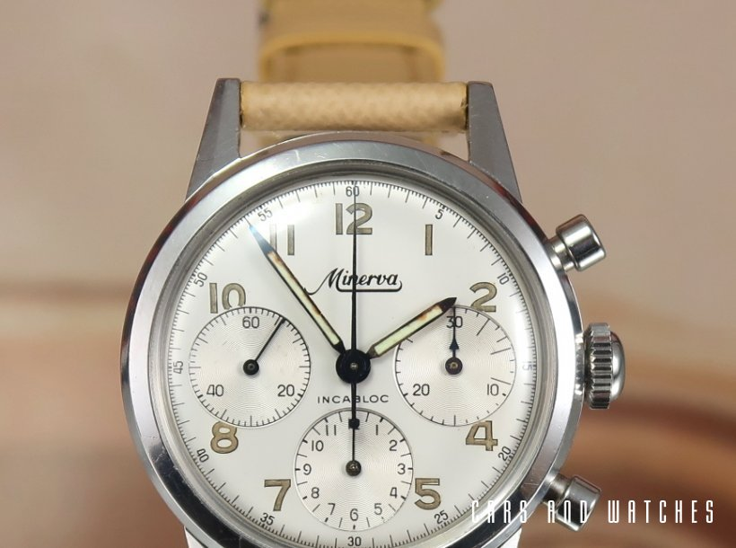 Minerva VD712 Waterproof Chronograph