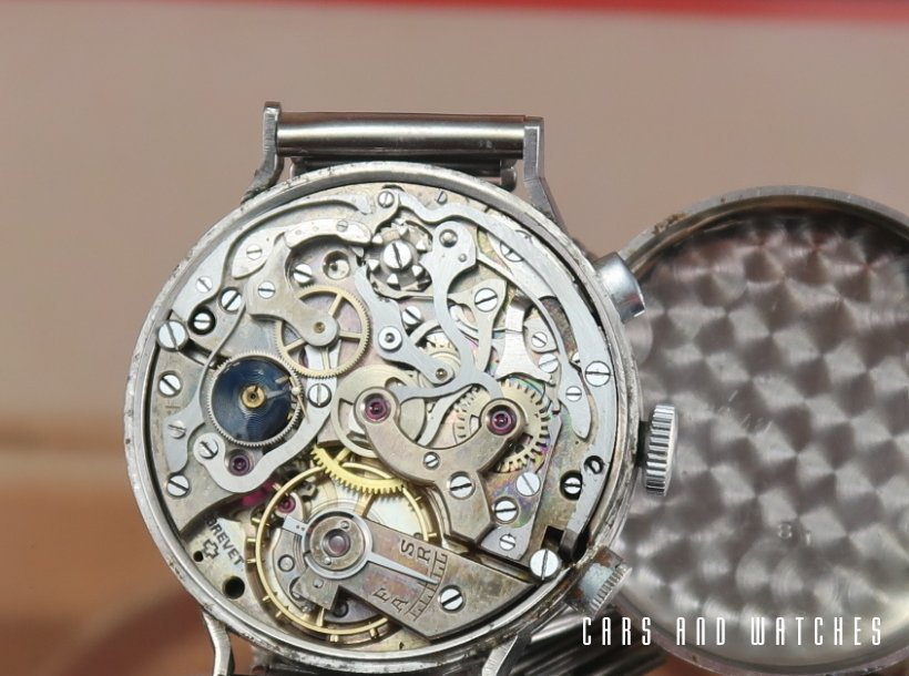 Bovet Mono Rattrapante with special steel case
