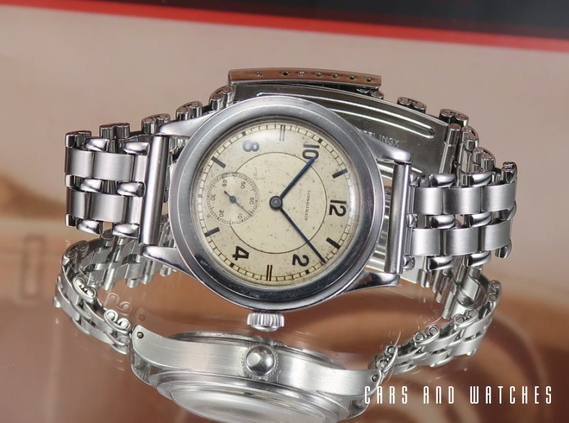 Longines Tre Tacche 35mm Step with rare dial