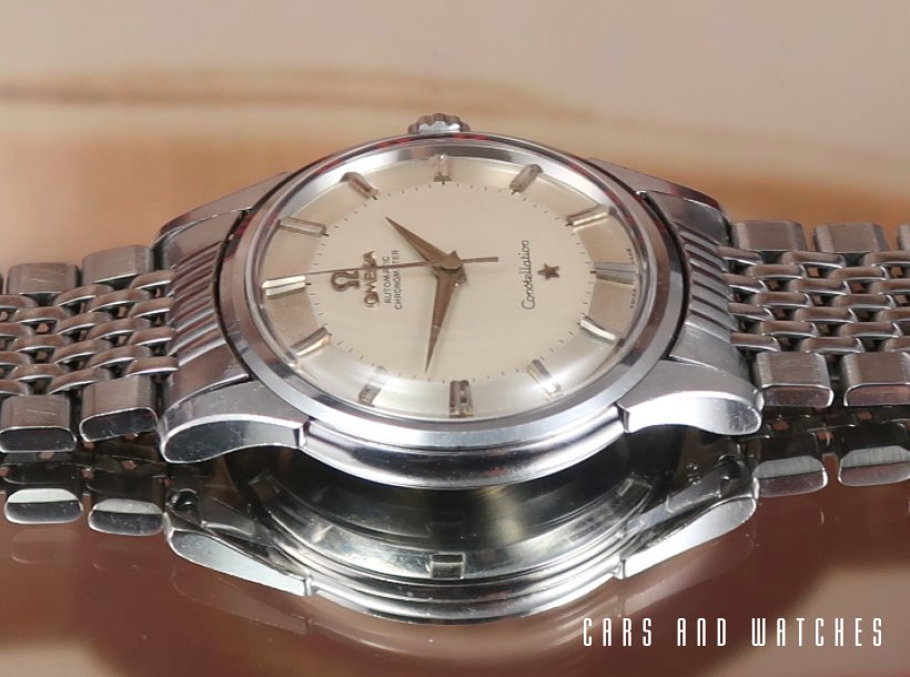 Unpolished Omega Constellation Pie-Pan no lume dial