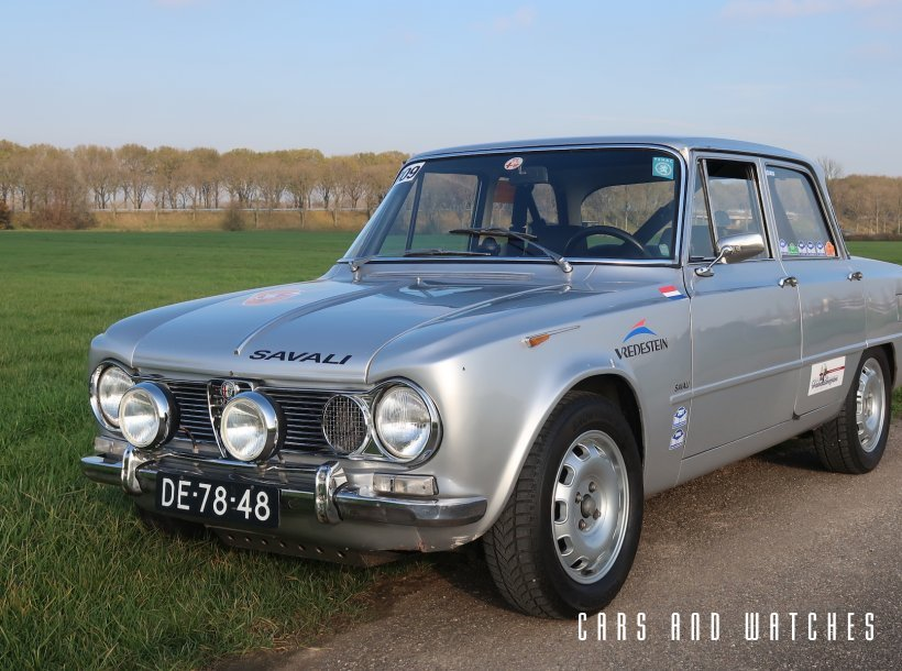 Giulia Super 1600 Ti Rallycar from 1965