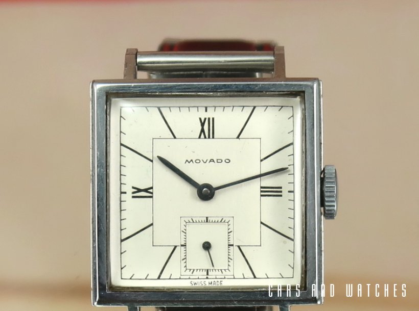Movado Square Waterproof FB case from 1940